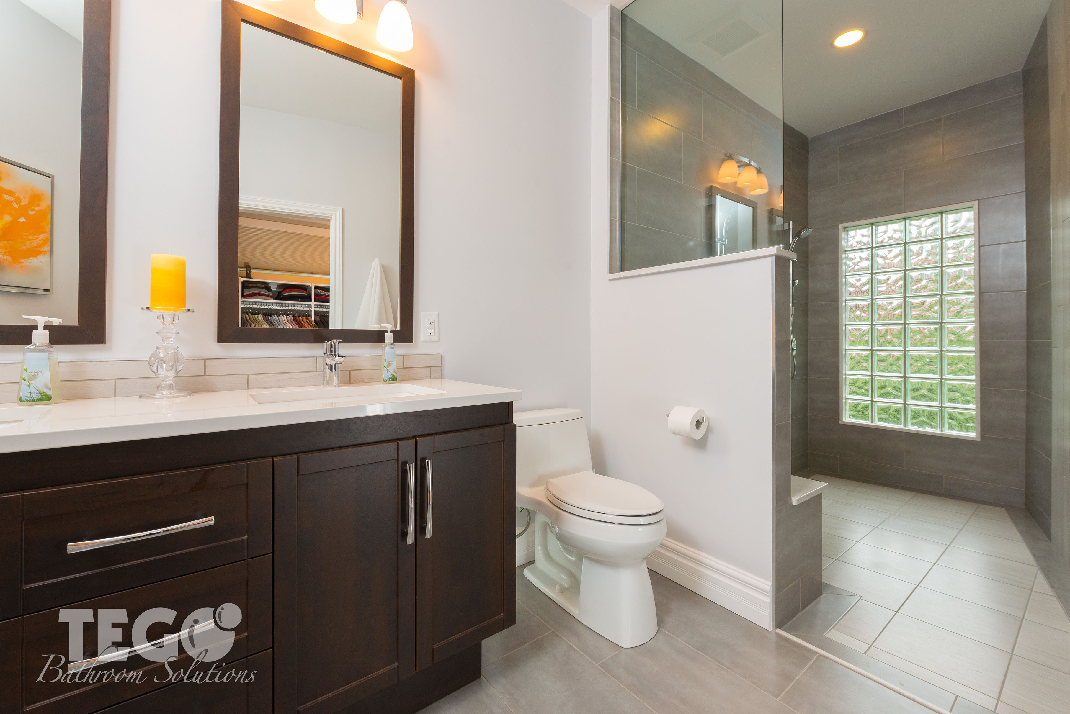 Great An Open Shower Concept Is An Excellent Way To Use A Large Bathroom Space