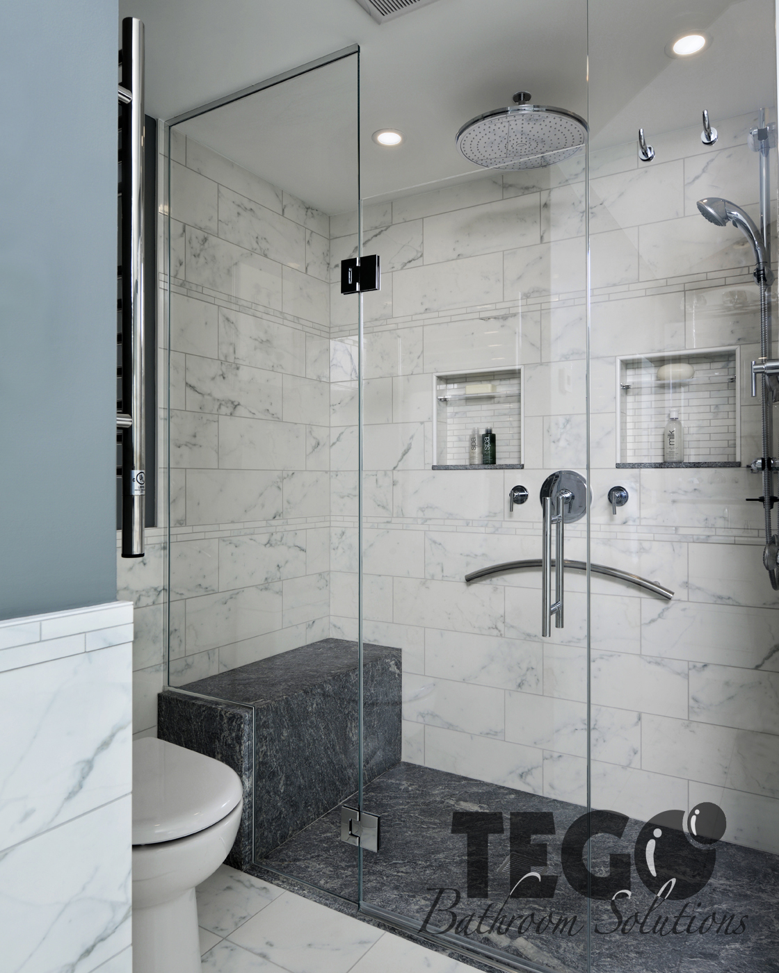 emerging trend no custom an enclosure zero shower threshold bathroom unit