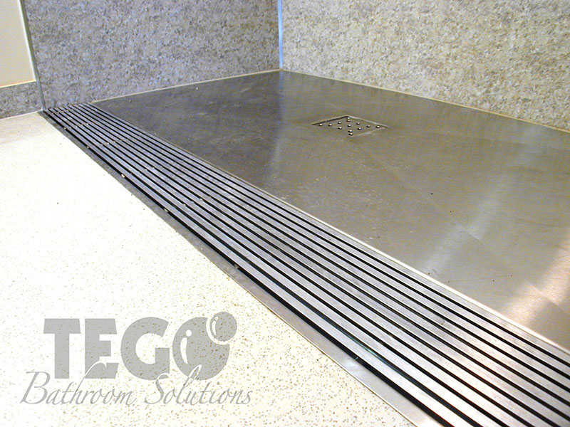 Exceptionnel Muralam Panels And Stainless Steel Features Make This Shower Built To Last.  With No Threshold ...